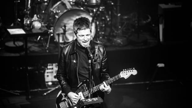 Noel Gallagher is touring in support of his third post-Oasis alum, the very eclectic Who Built The Moon? (Photo by Emmanuel Wino)
