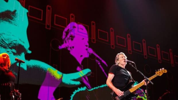 Roger Waters brought his spectacular US + THEM tour to Newark's Prudential Center on Thursday, September 7th. (Photo by Kate Izor)