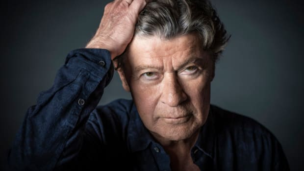 Recent Robbie Robertson portrait Photo by Don Dixon.
