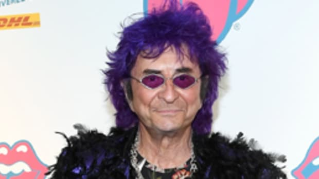 "Jim Peterik attends ""Exhibitionism - The Rolling Stones"" Chicago exhibit opening at Navy Pier on April 19, 2017 in Chicago, Illinois. (Photo by Daniel Boczarski/Getty Images)"