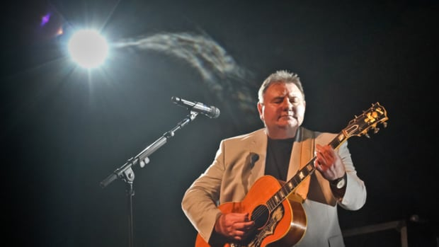 Greg Lake performing acoustically on his 2012 solo tour. Photo by Carla Huntington