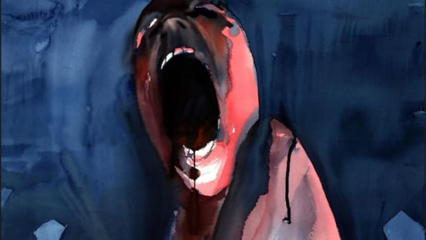 "Gerald Scarfe's ""The Scream."" Image courtesy of San Francisco Art Exchange"