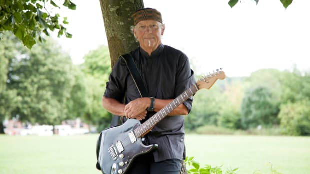 Martin Barre by Martin Webb posed shot