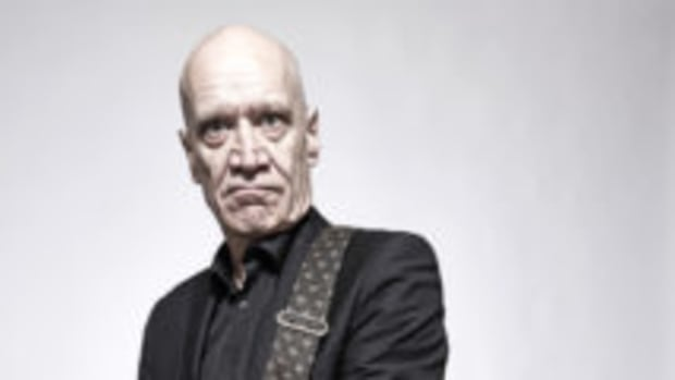 Wilko Johnson photographed at Sheffield City Hall on October 7th, 2016. Photo by Paul Crowther.