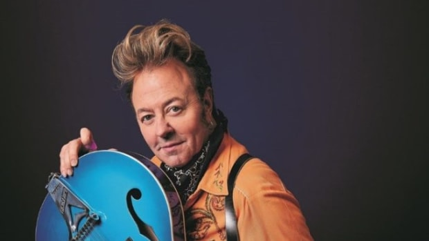 Brian Setzer 2019. Publicity photo by Tony Nelson.