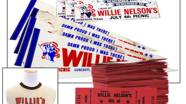Willie Nelson Picnic 1976 Memorabilia