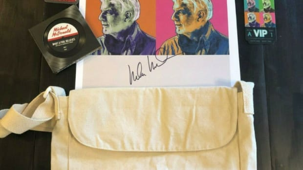 Michael McDonald swag bag.