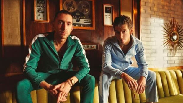 Miles Kane (left) and Alex Turner are The Last Shadow Puppets. (Photo by Zachery Michael)