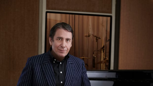 Jools Holland at the piano. Photo by Mary McCartney, courtesy of publicity.