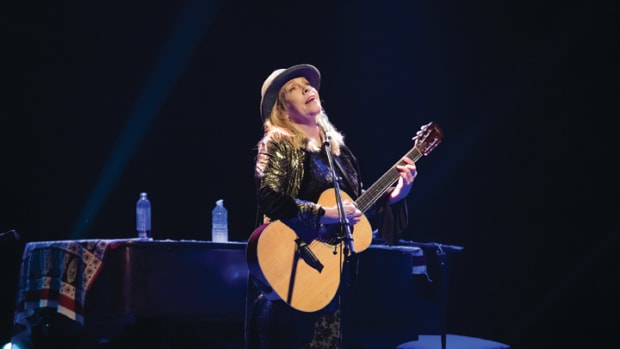 Rickie Lee Jones performs at La Cigale on March 3, 2018 in Paris, France. (Photo by David Wolff - Patrick/Redferns)