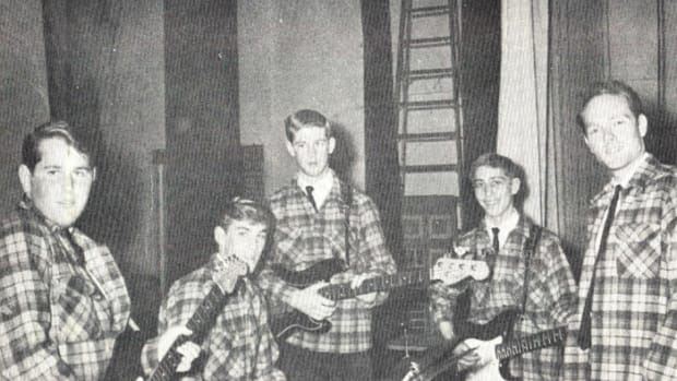 Beach Boys were a highlight at Torrance High School, March 1962.