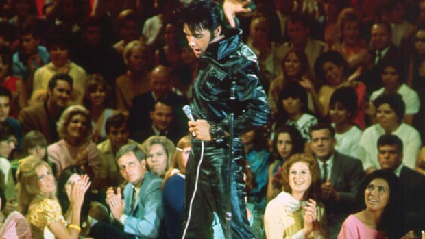 Elvis Presley during the 1968 TV Special. Image Courtesy of S ©ABG EPE IP LLC