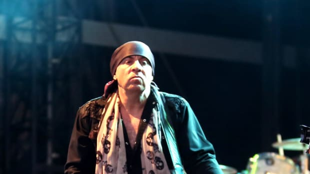 Steven Van Zandt live with the Disciples of Soul. Photo by Jo Lopez/courtesy of SVZ.