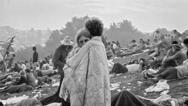 Publicity photo for the Woodstock soundtrack. (Photo by Michael Ochs Archives/Getty Images)