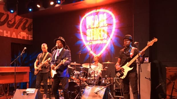 Booker T. Jones and his band rocked the night at one of DC's new music venues, Pearl Street Warehouse. Photos courtesy of Doug Koztoski