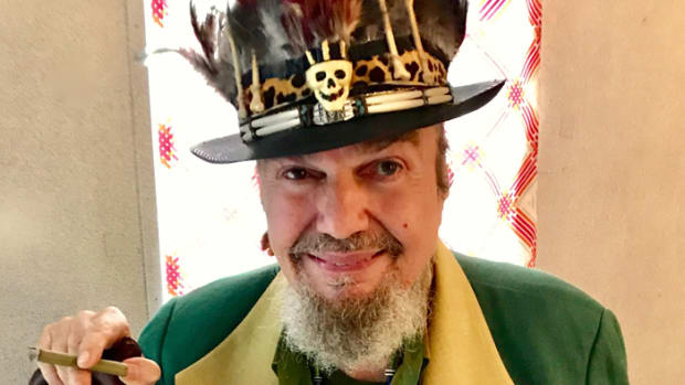 """Producer Harold Battiste gave the record his style of psycho-delphia,"" Dr. John says of the album ""Gris-Gris."" ""I didn't want to be the front man but (singer) Ronnie Barron's manager thought it would be a bad career move for him. My conga player 'Didymus' told me that if Bob Dylan can sing, then I can sing, too."" Photo courtesy of Dr. John."