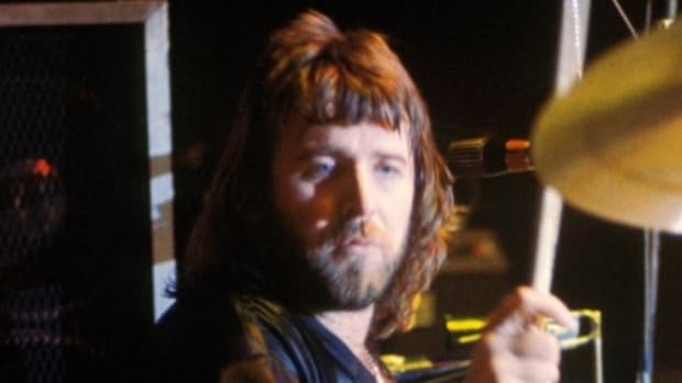 Lee Kerslake drum