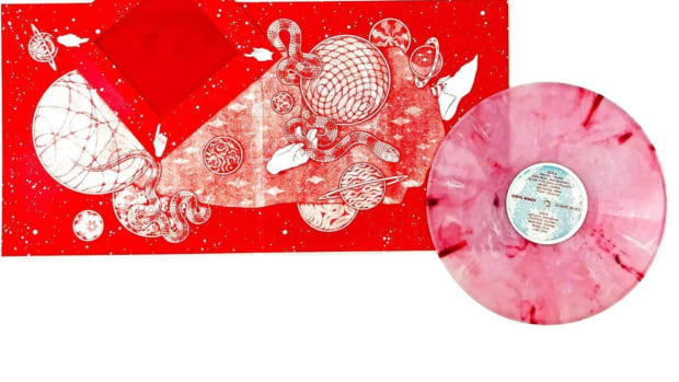 Vinyl Moon record
