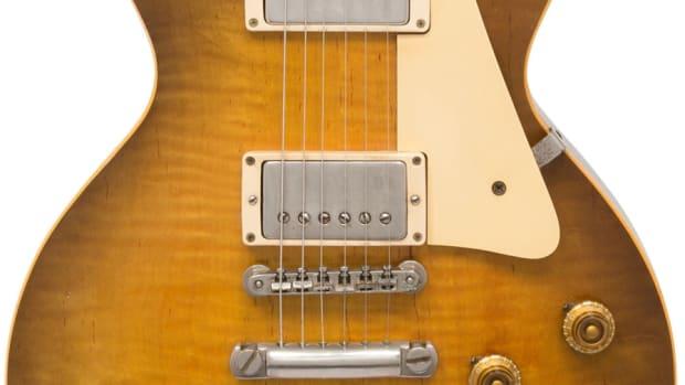 Crop-1959 Gibson Les Paul Standard Sunburst Solid Body Electric