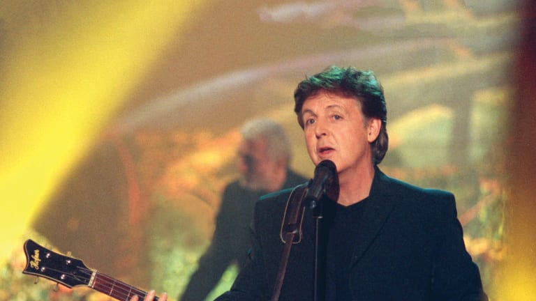 "The making of Paul McCartney's ""Flaming Pie"""