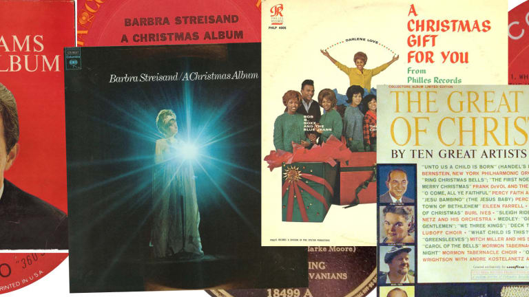 Collecting Christmas records
