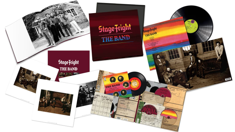 """The Band's latest """"Stage Fright"""""""