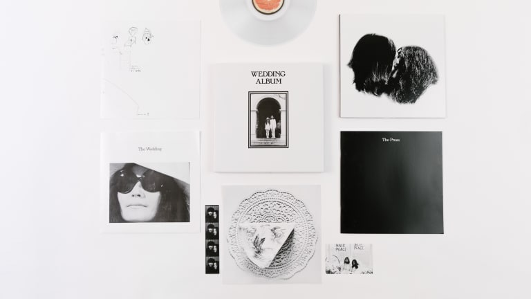 "Box Set Review: John & Yoko's ""Wedding Album"""