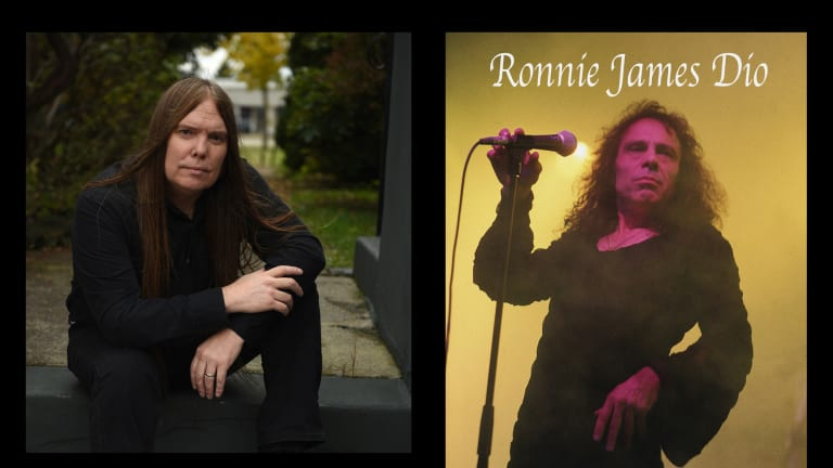 Music photographer Frank White talks about his Ronnie James Dio book