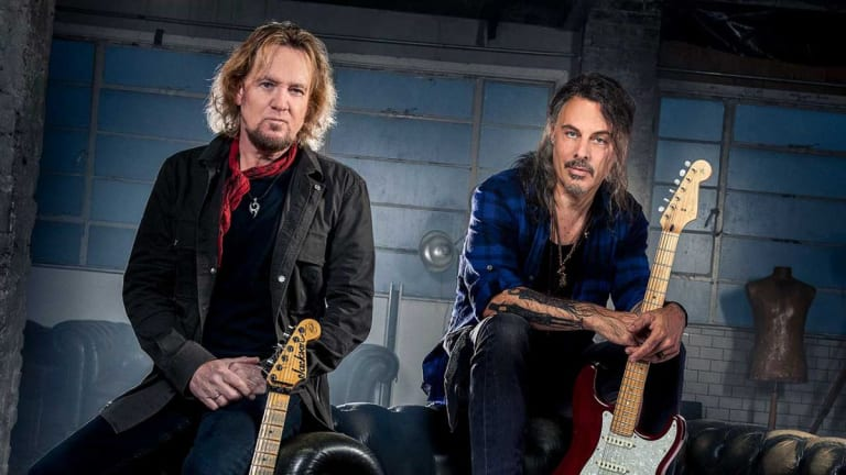 Guitarist Adrian Smith revels in the heavy blues rock of Smith-Kotzen