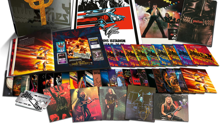 'Judas Priest: 50 Heavy Metal Years' box set to be released in October