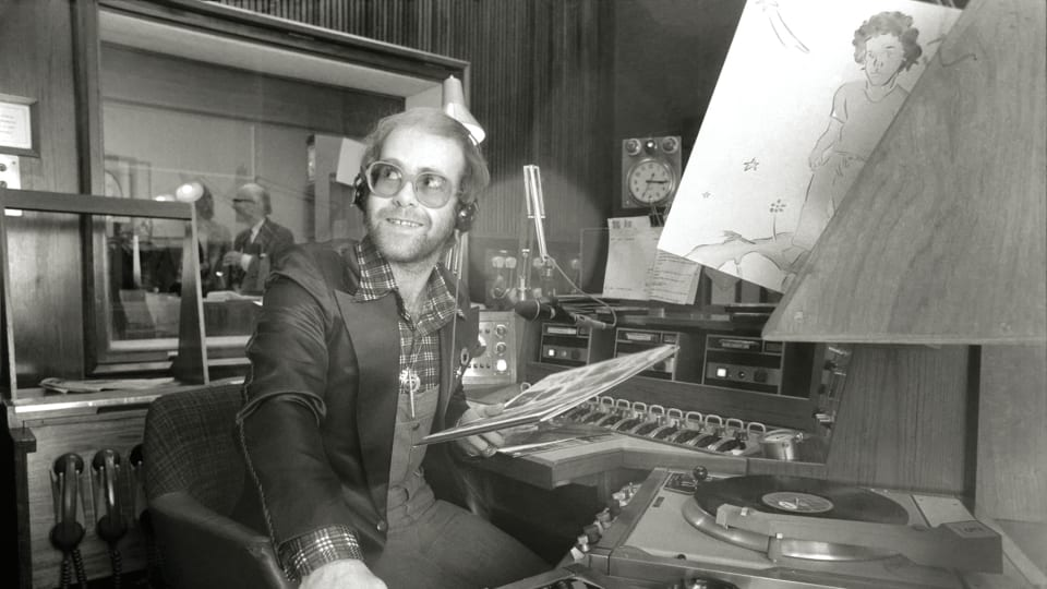 Elton John shares his love for music collecting with Goldmine