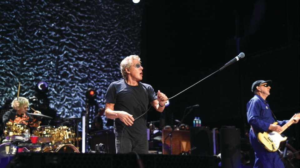 Vocalist Roger Daltrey defines The Who in 2020