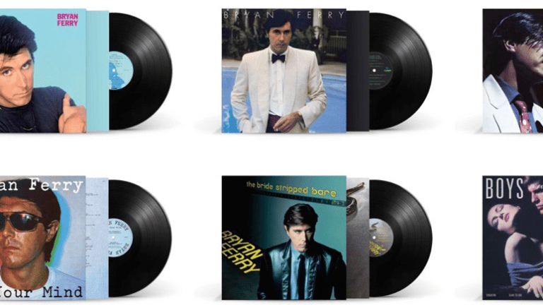 Bryan Ferry's first six solo albums back on vinyl