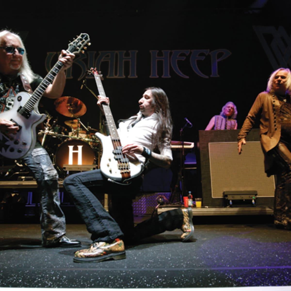 Uriah Heep Are Now Living The Dream Goldmine Magazine Record Collector Music Memorabilia