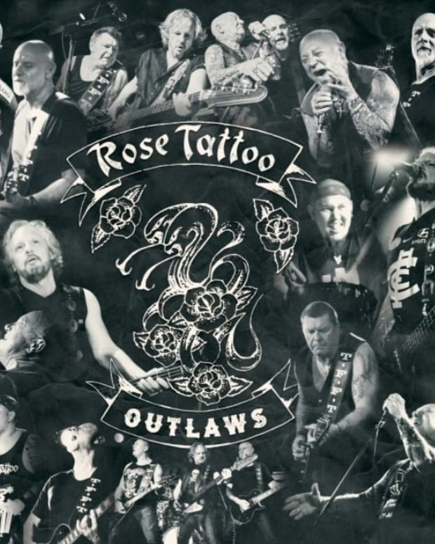 Rose Tattoo Outlaws album   cover