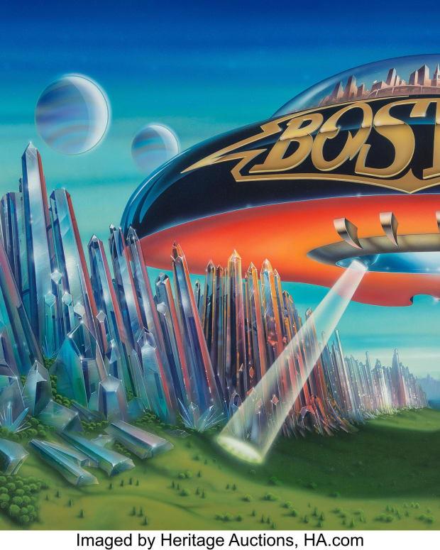 Boston Dont Look back art