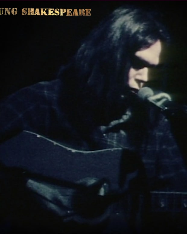 Neil Young -- Young Shakespeare cover art