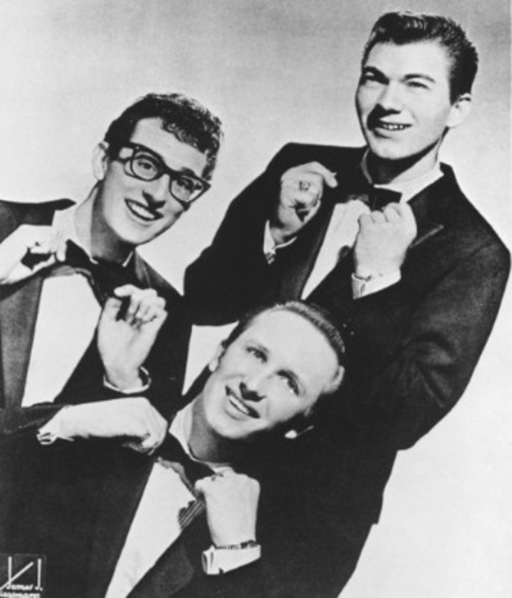 "Buddy Holly and The Crickets. Feb. 3, 2009, marked the 50th anniversary of ""The Day The Music Died,"" the plane crash that killed Buddy Holly, Ritchie Valens and J.P. ""The Big Bopper"" Richardson. Photo: James J. Kriegsman."