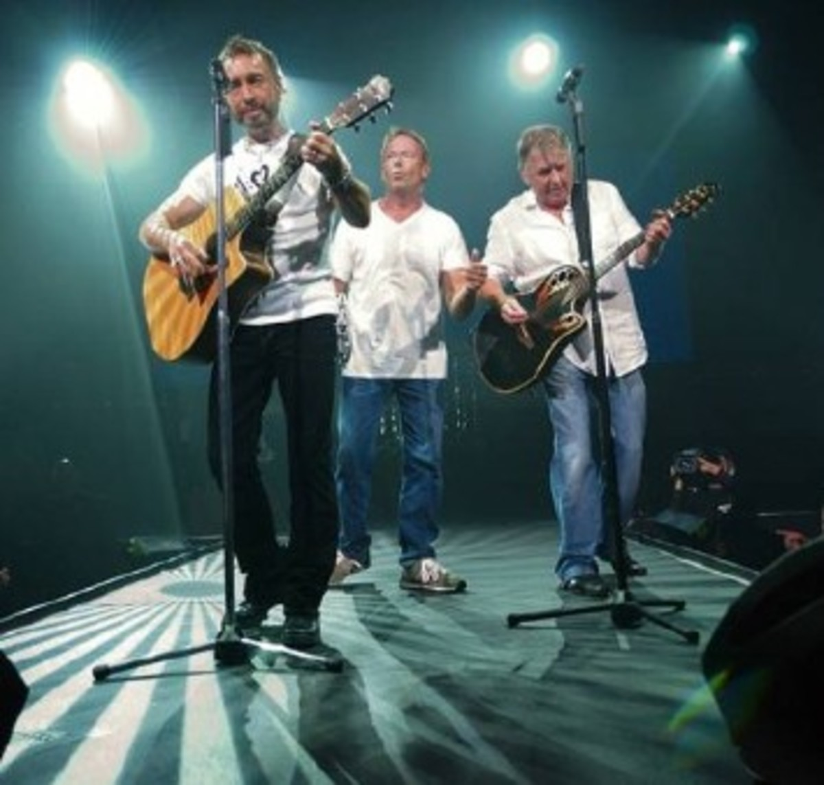 Bad Company reunited and performed before a sold-out crowd in Florida on Aug. 8, 2008. Photo: Bad Company.