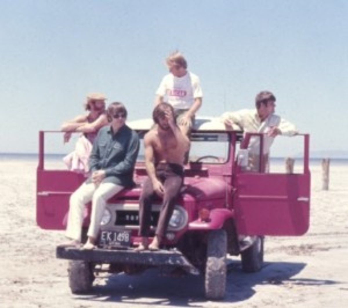 The Beach Boys. Courtesy of Endless Summer Quarterly/collection of Brian Berry.