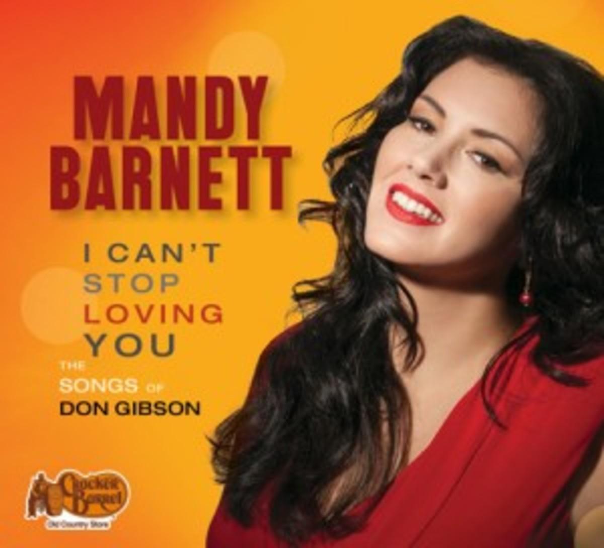 Mandy Barnett I Can't Stop Loving You