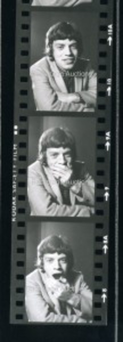 Mick Jagger. Courtesy of Backstage Auctions
