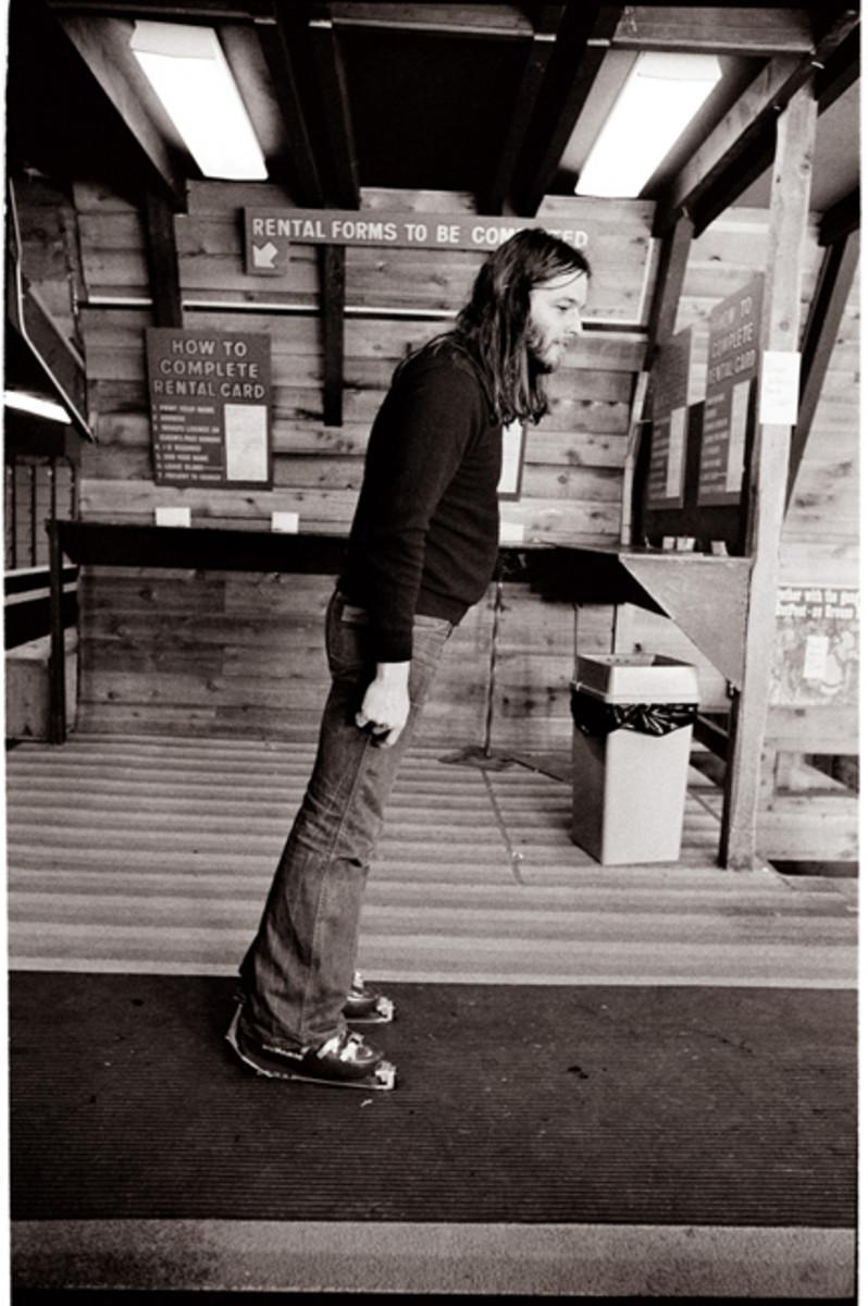 Pink Floyd guitarist David Gilmour circa 1974