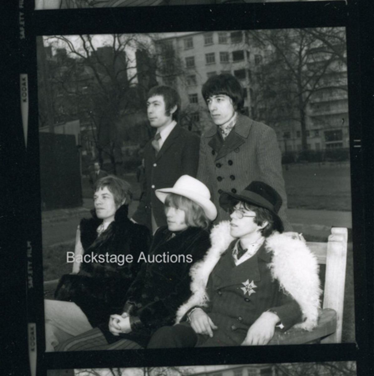 One of the many Rolling Stones images to be found in Backstage Auctions' London Features auction. Image courtesy of Backstage Auctions.