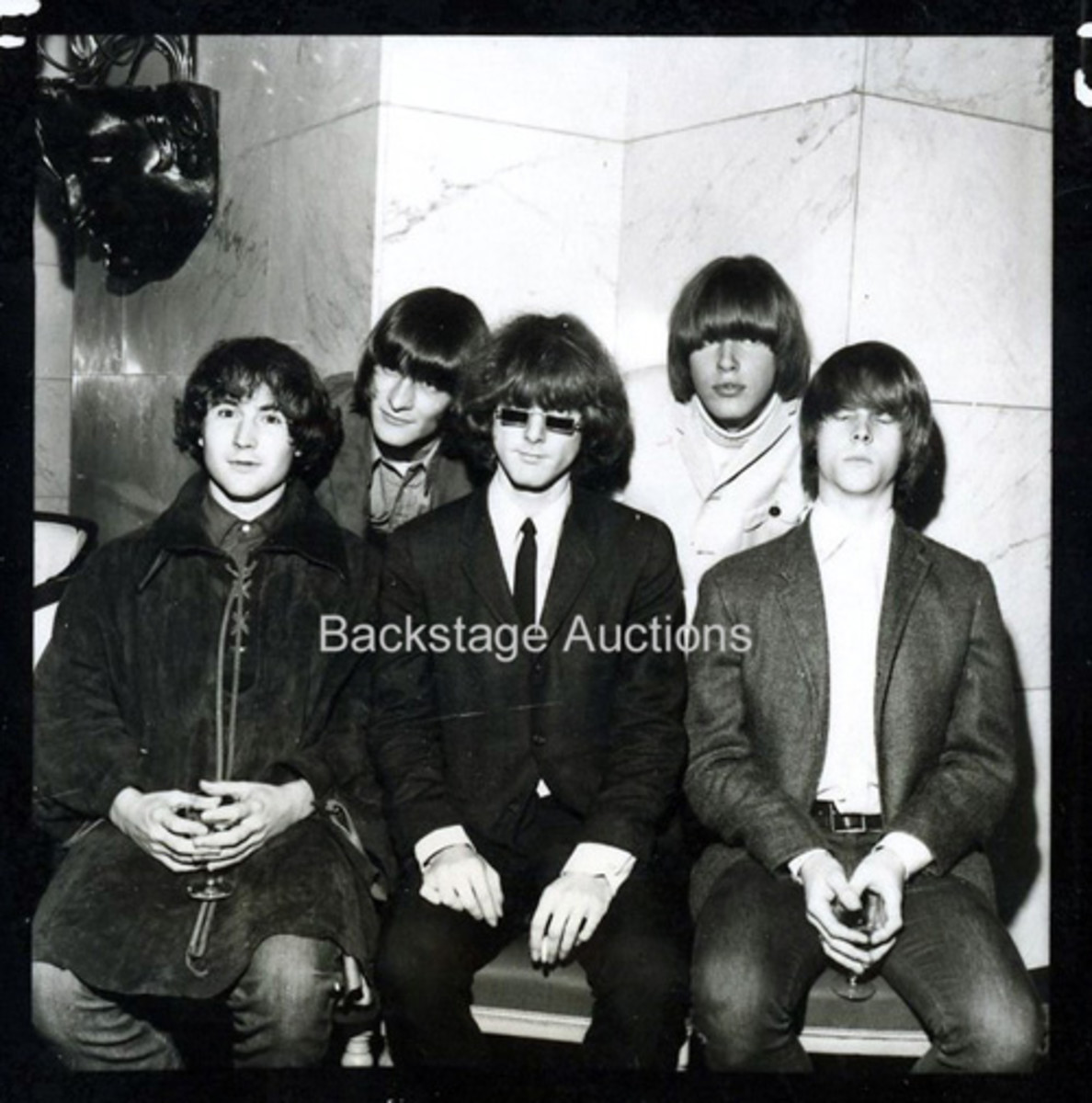 The Byrds. Courtesy of Backstage Auctions