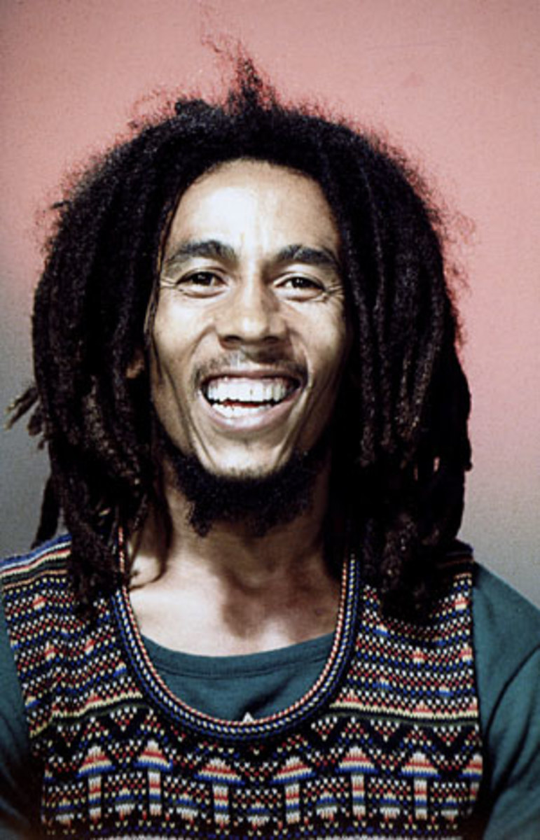 BOB MARLEY 1978 HOLLAND PHOTO BY LAURENS VAN HOUTEN/FRANK WHITE PHOTO AGENCY