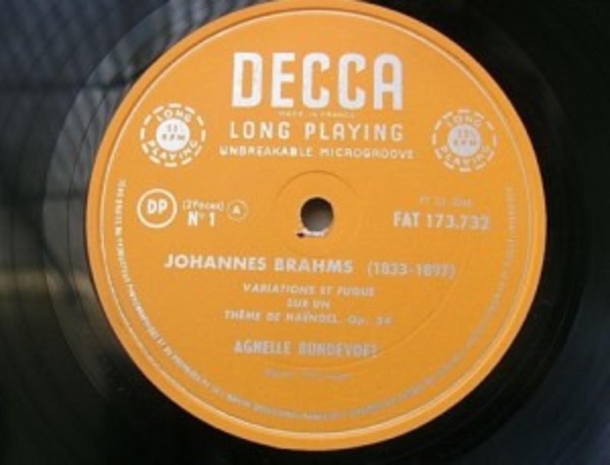 Brahams on Decca