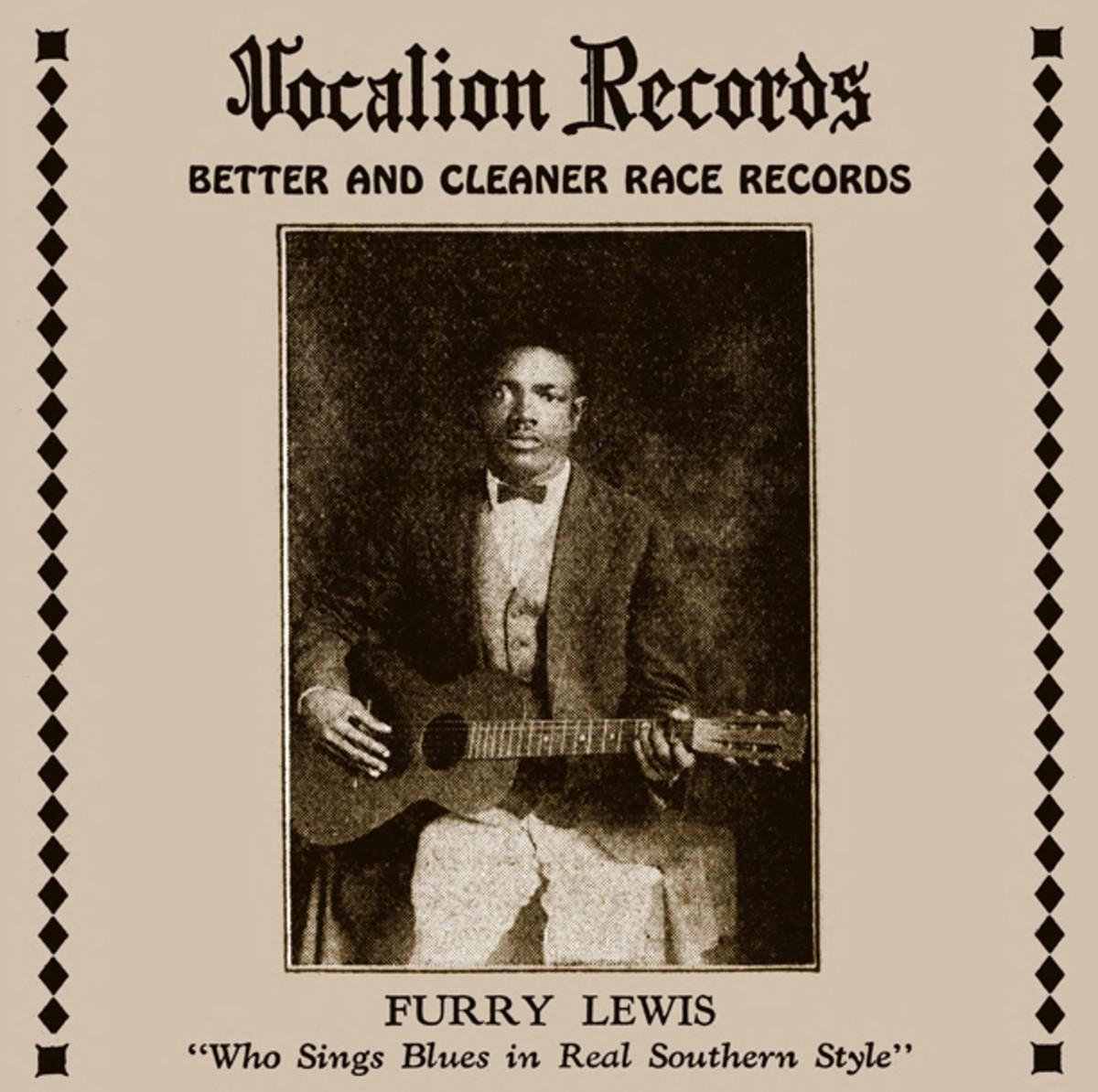 Furry Lewis Vocalion Records