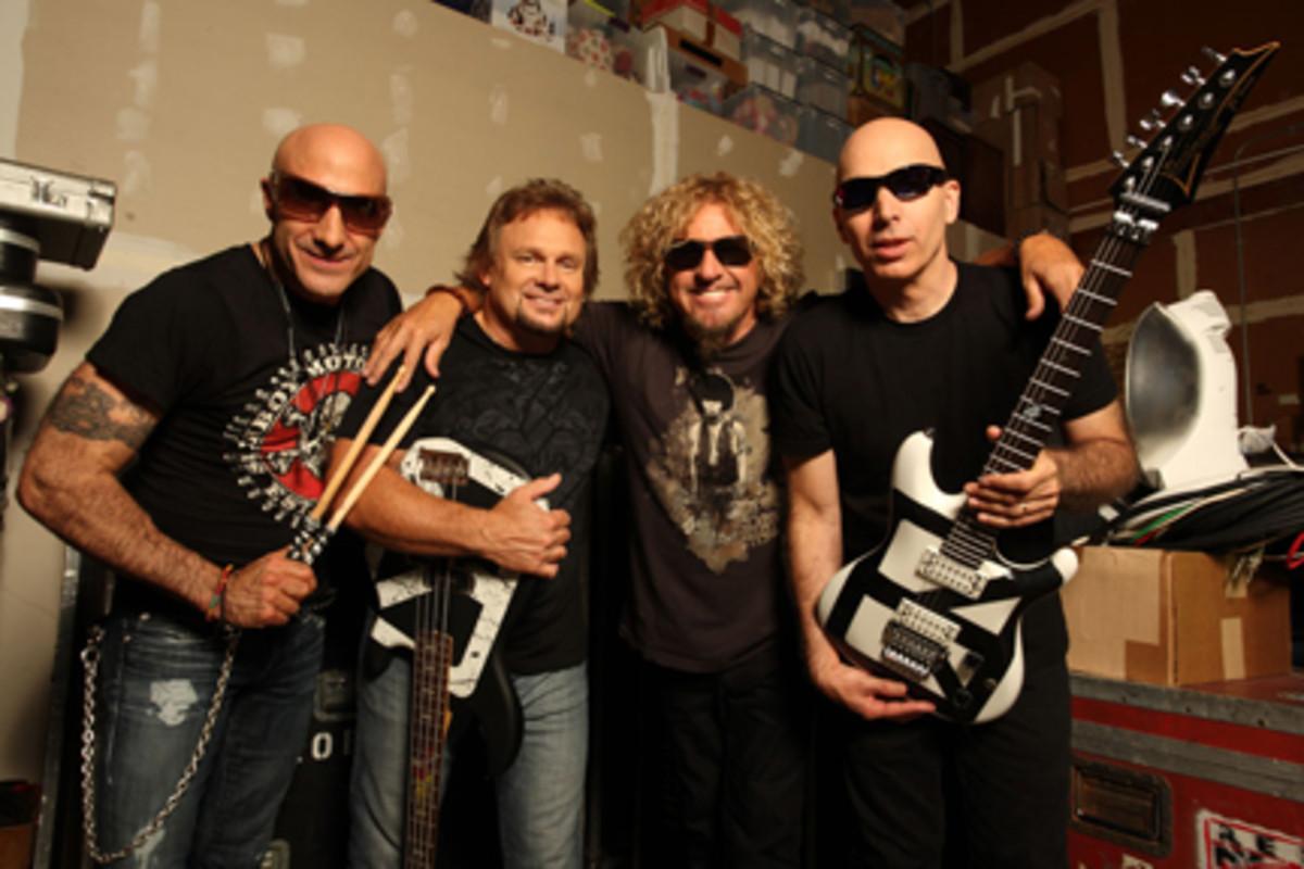 Chickenfoot 2011 tour