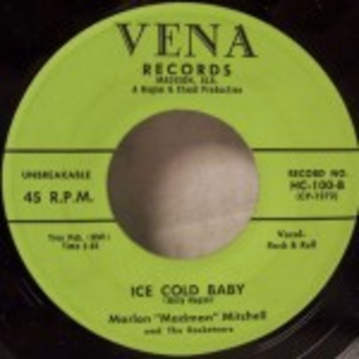 Marlon Madman Mitchell Ice Cold Baby